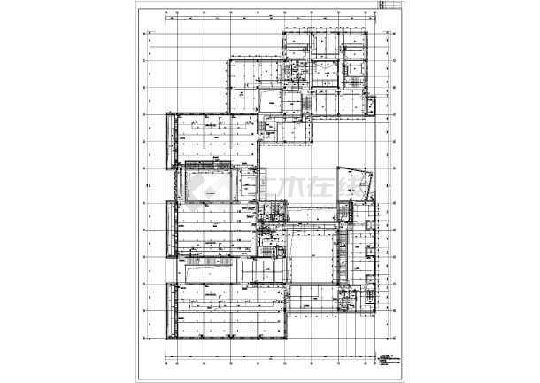 某地方美术馆给排水消防施工图设计-图1