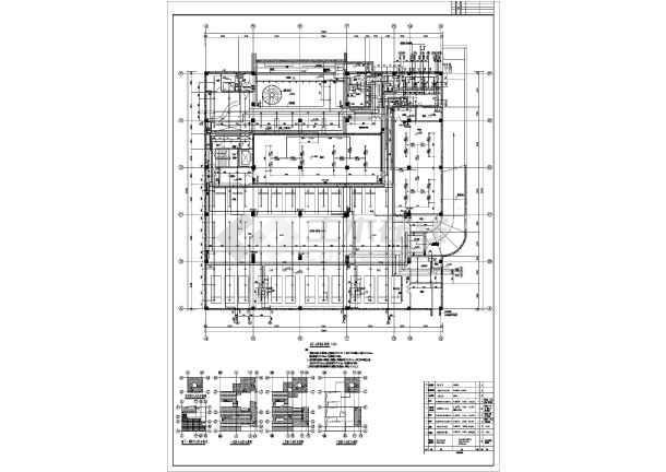某地方美术馆给排水消防施工图设计-图3