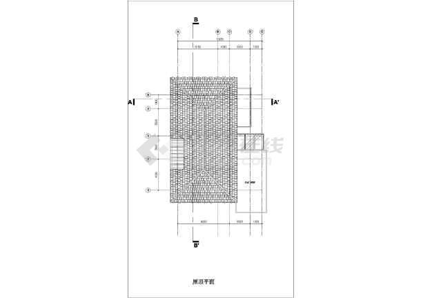 乡村风格二层质朴农村房屋详细建筑设计图-图七