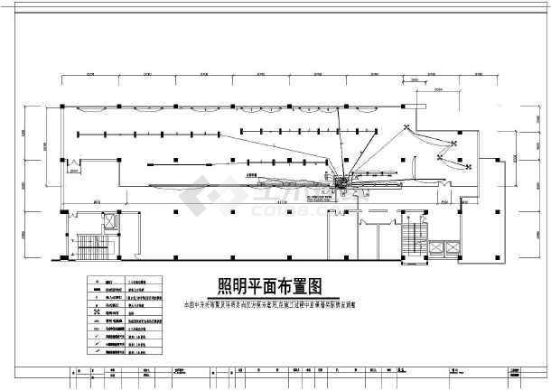 某地区某台球厅图纸CADv图纸电气_cad图纸下cad模板下载图纸框装饰图片