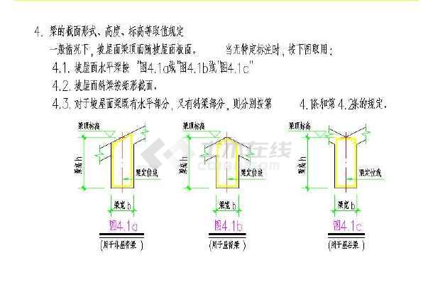 坡屋面结构平法构造大样详图图片2