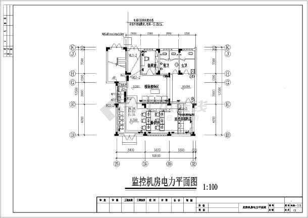 某地区设计布艺图纸CAD监控老虎图片图纸机房电气图片