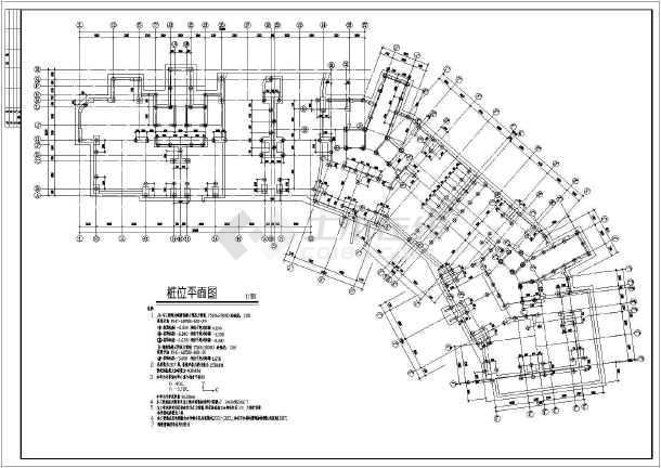 某19层高住宅楼cad表壳加工工程结构图纸图纸施工图片