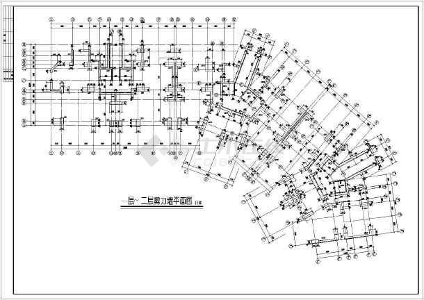 某19图纸住宅楼cad大小v图纸工程结构cad2015图纸层高限定图片