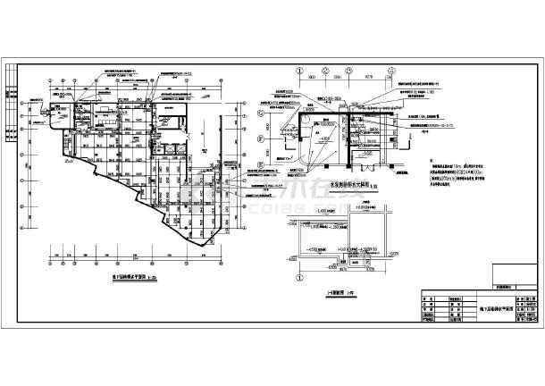 六层中式办公大楼全套给排水设计图纸-图2