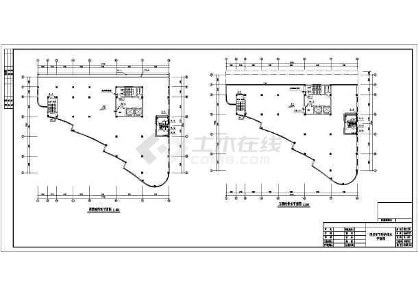 六层中式办公大楼全套给排水设计图纸-图3