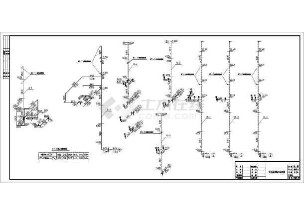 某商务办公建筑全套给排水设计施工图-图1