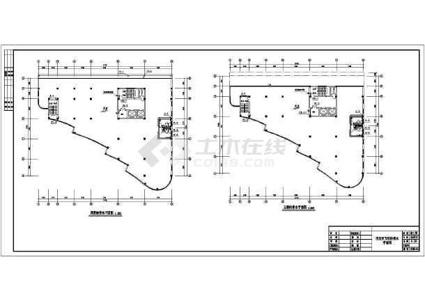 某商务办公建筑全套给排水设计施工图-图3