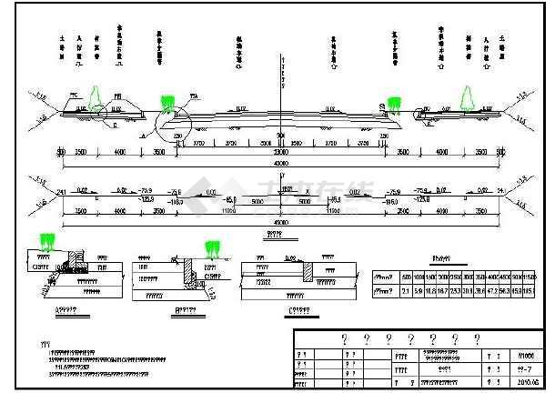 某地详细市政图纸CAD整套v市政道路_cad图纸负反馈图纸开关电源光耦图片