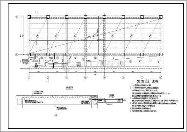 某预制板加固详细设计cad图纸施工图看施工懂怎样大样桥梁图片