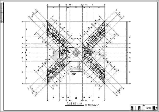 某高层办公楼全套给排水设计施工图-图1