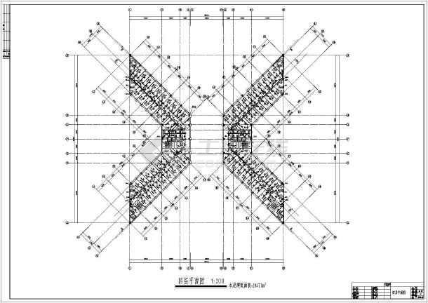 某高层办公楼全套给排水设计施工图-图2