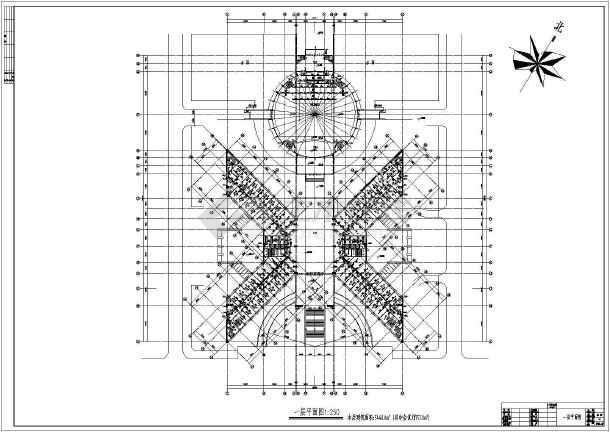 某高层办公楼全套给排水设计施工图-图3