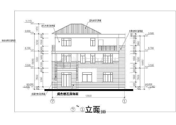 坡屋顶      设计功能:      一层:客厅,餐厅,门厅,卧室,卫生间,厨房