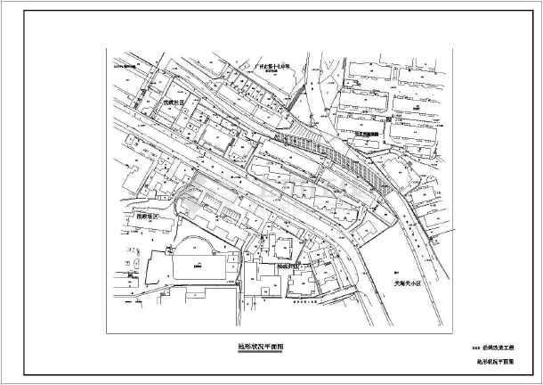 某地区一套典型的河涌整治cad设计图纸-图2