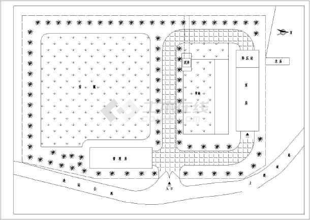 开发区排涝泵站给排水施工图纸(全套)-图1