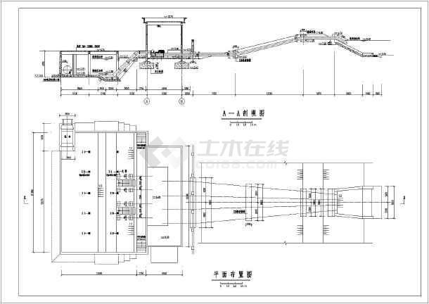 开发区排涝泵站给排水施工图纸(全套)-图2