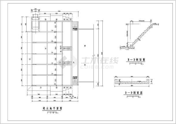 开发区排涝泵站给排水施工图纸(全套)-图3