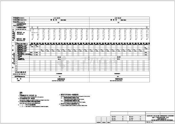 某地区某受力用400V设计图纸一套CAD配电电厂跨板系统筋图纸图片