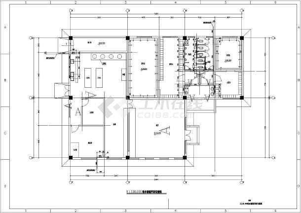 江苏省某食堂及附属构筑物给排水施工图-图1