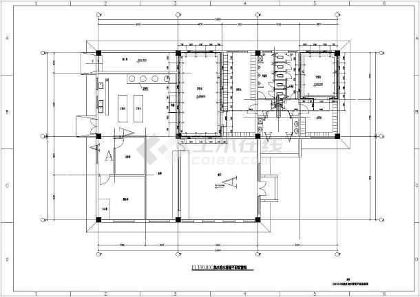 江苏省某食堂及附属构筑物给排水施工图-图2