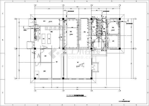 江苏省某食堂及附属构筑物给排水施工图-图3