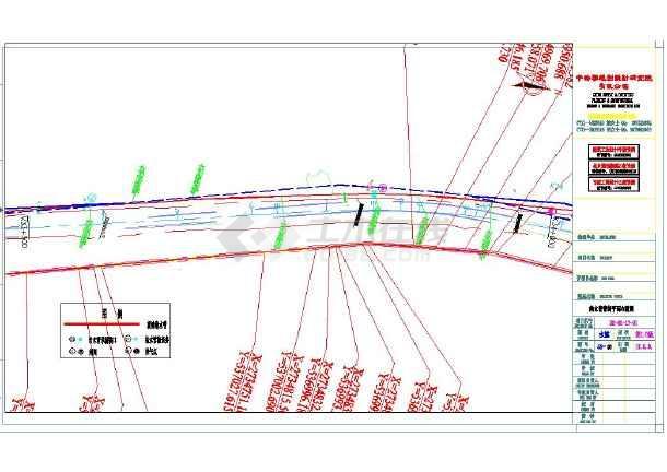 某地小型电厂污水管改造cad施工图-图1