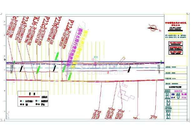 某地小型电厂污水管改造cad施工图-图2