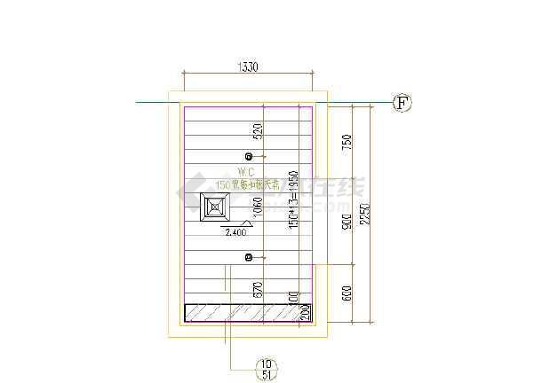 某地某医院装修CAD设计图纸 全套