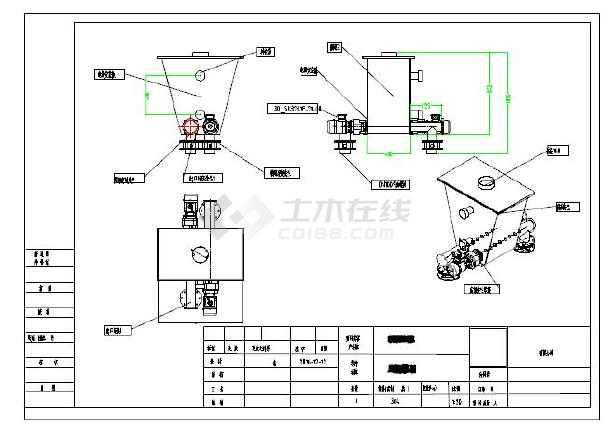 双螺旋给料机cad图纸图纸什么意思kz电气图片