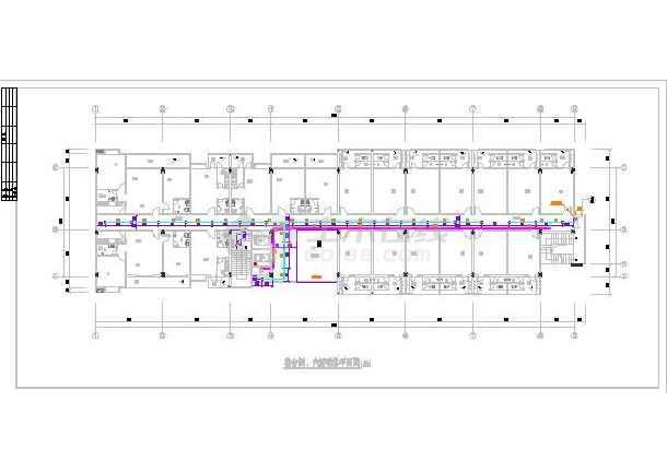 某七层员工宿舍楼给排水设计施工图-图2