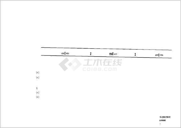 综合管廊热力管网设计图纸-图2