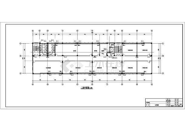 中学科研信息教学楼给排水施工图纸-图3