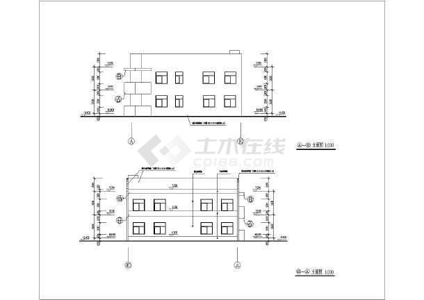 幼儿园建筑全套完整设计方案施工平面图_cad图纸下载