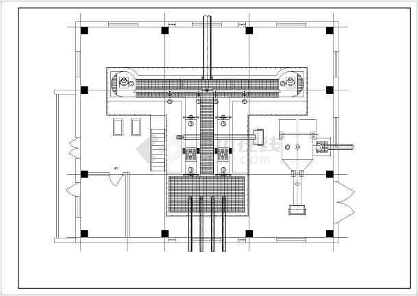细格栅间及旋流沉砂池-图1