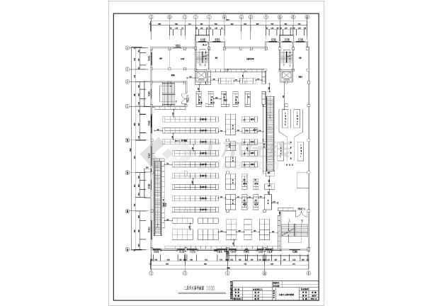 某大型超市建筑全套消防设计施工图纸图片