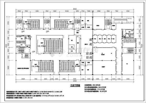 某农贸市场建筑平面设计图