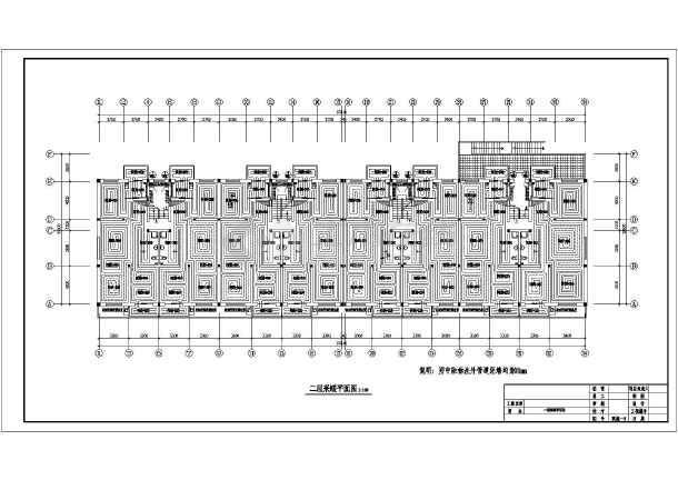 某商住办公大楼水暖设计cad施工图-图1