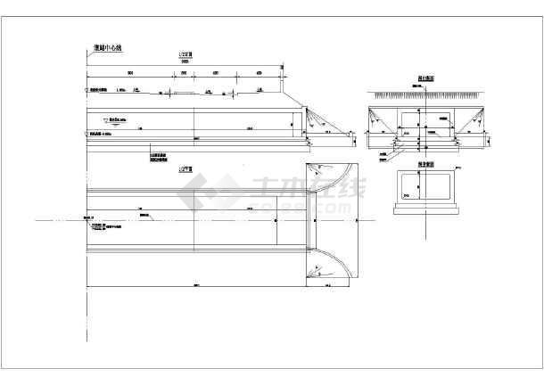 整套5X2.5m钢筋混凝土图纸v图纸cad图纸成a4把叠怎么大小纸箱涵图片