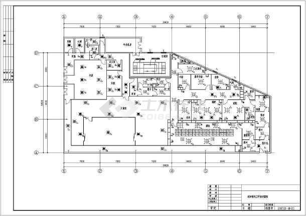 某空调设计图纸a空调车间cad输液医院太和s253设计图纸图片