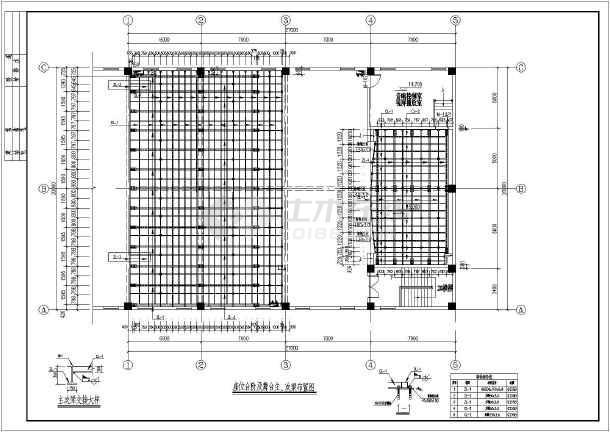 钢结构阶梯教室结构设计图