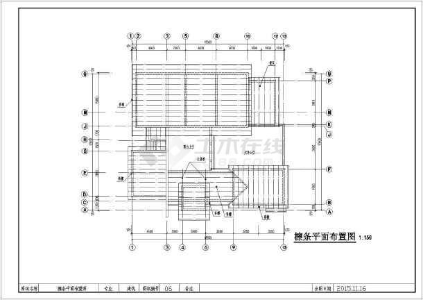 中式古朴风格二层农村房屋建筑设计图-图七