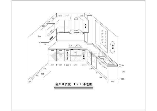 厨房图纸排烟设计_大全厨房排烟设计家用免费茶馆设计家用图片