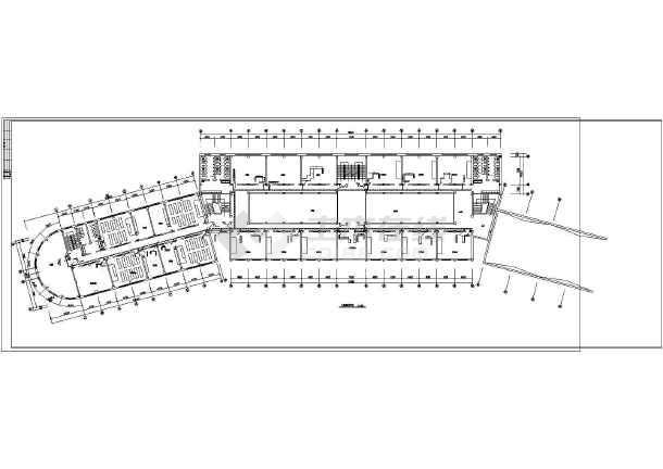 某地区学校弱电竣工CAD设计图纸-图1