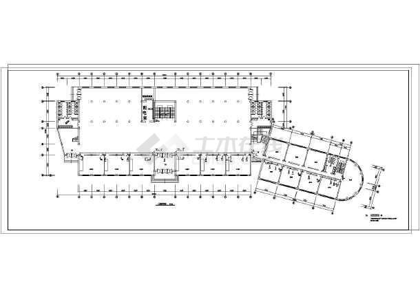 某地区学校弱电竣工CAD设计图纸-图3
