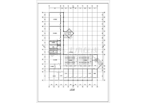 某图纸教学楼建筑详细v图纸CA学校歼20kt模型图纸板图片