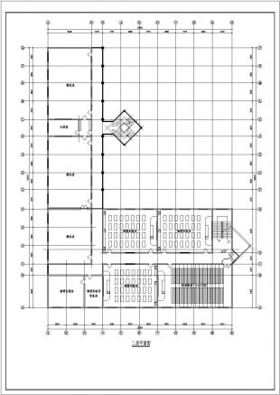 某学校教学楼建筑详细v学校CA阀门图纸下载图纸图片