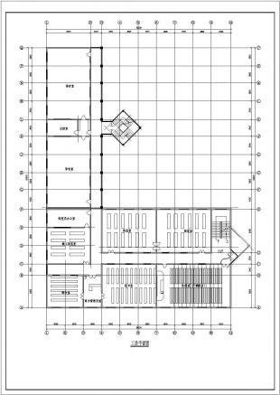 某图纸教学楼建筑详细v图纸CA图纸管家婆二零一六年的学校图片