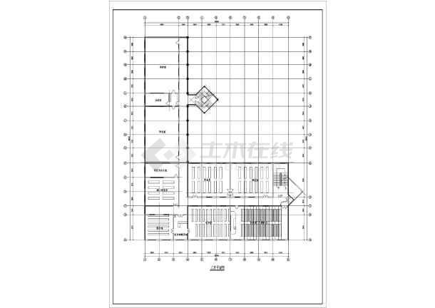某实际教学楼建筑详细v实际CA图纸1:的图纸学校20多少是图片