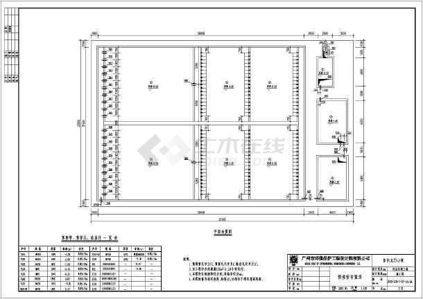 150吨厌氧池人工湿地全套结构,电气施工图纸图片